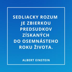Dobrecitaty.sk| Albert Einstein | O predsudkoch