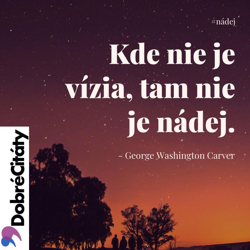 Dobrecitaty.sk| Carver | Nádej